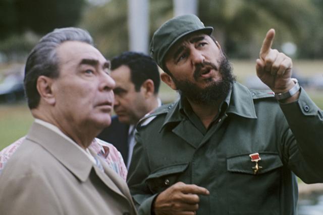 Визит Л.И. Брежнева в Республику Куба.