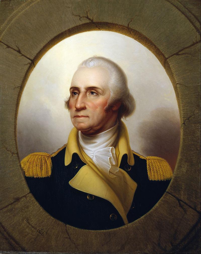 Джордж Вашингтон, портрет