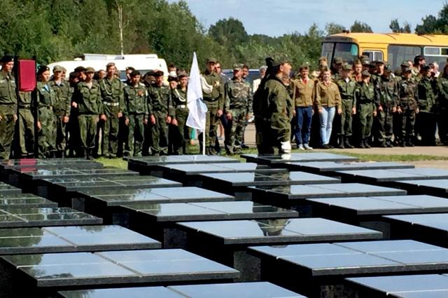 Мемориальный комплекс Славы воинамсибирякам в Бельском районе