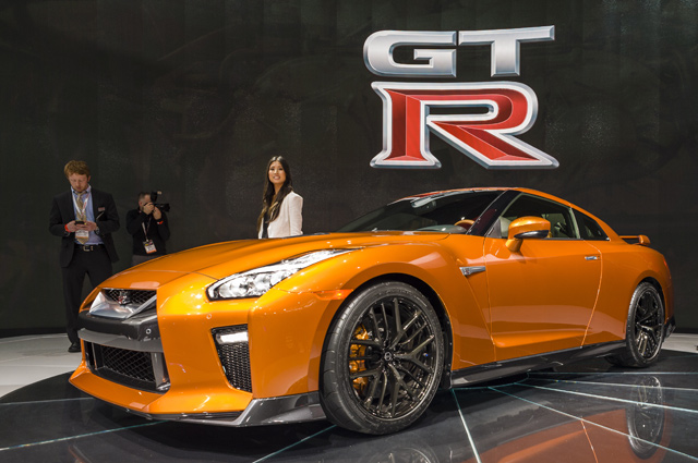 Nissan GTR.