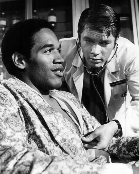 О. Джей Симпсон в телешоу, 1969 г.