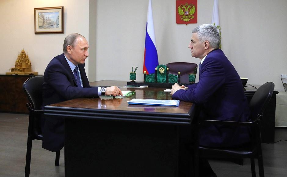 Путин встретился с Парфенчиковым