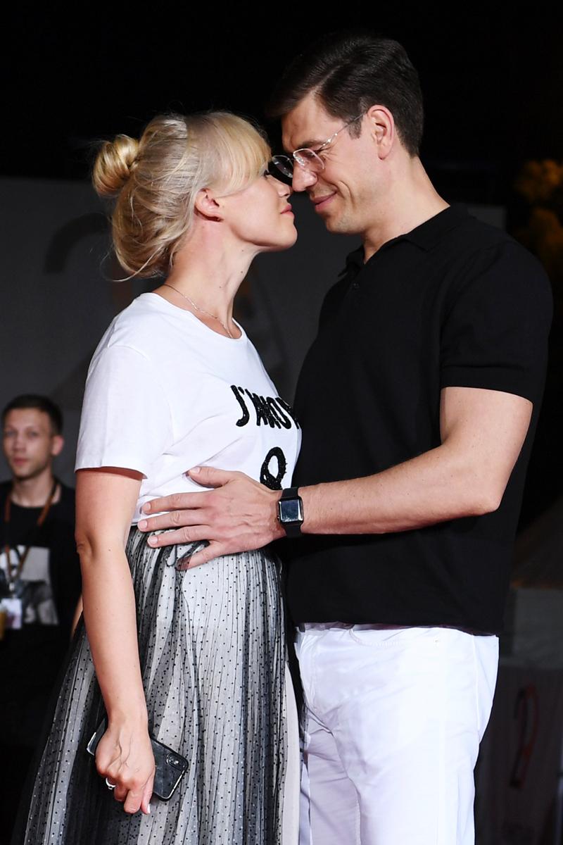 Дмитрий Дюжев с супругой Татьяной.