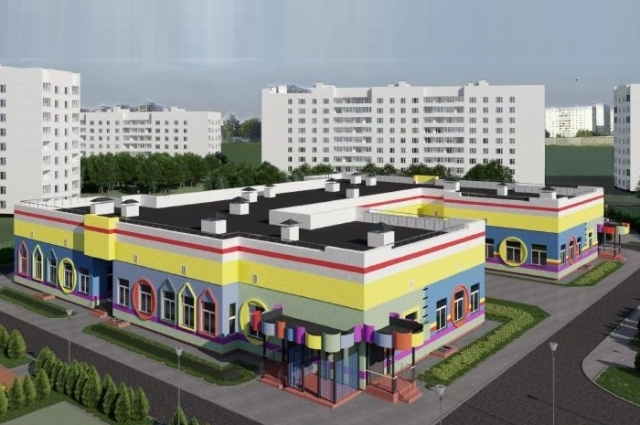 Строительство яслей на 90 мест в посёлке Красный Бор Ярославского района завершится к концу года.