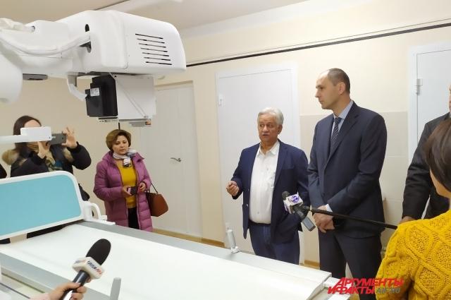 Орский диспансер оборудован самым современным компьютерным томографом и рентгеновским аппаратом, таких нет даже в областном центре.
