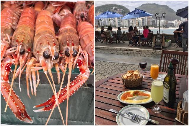 В меню бразильцев преобладают морепродукты, хлебобулочные изделия и картофель.