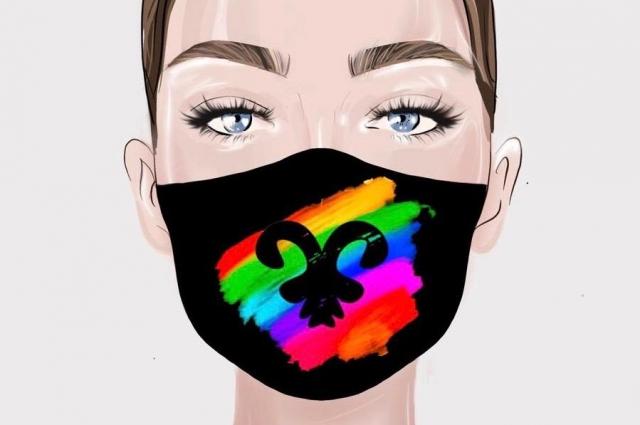 Уже сейчас множество предложений креативных масок для лица.