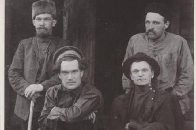М.М. Васильев, В.В. Куйбышев, В.М. Косырев, А.Ф. Иванов. Нарымская ссылка