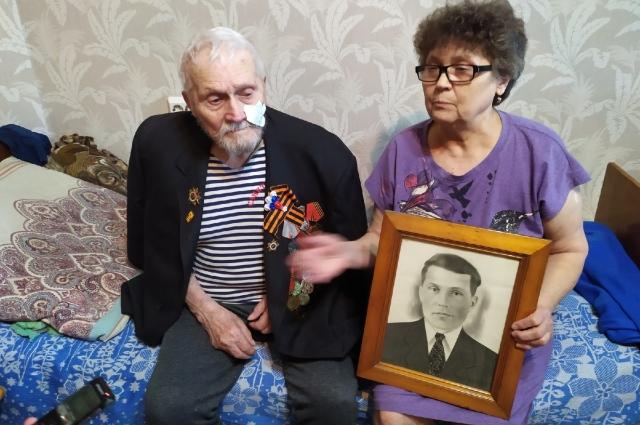 Иван Будилин с дочерью