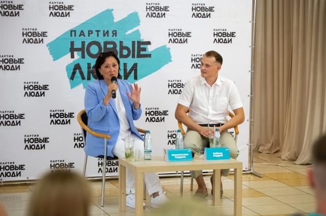 Встреча с жителями Саратова в гостинице «Словакия»