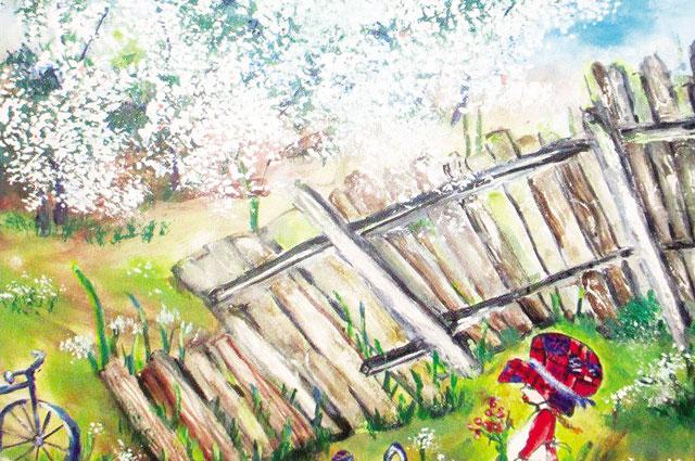 Скоро картины Светланы отправятся в Санкт-Петербург на ярмарку.