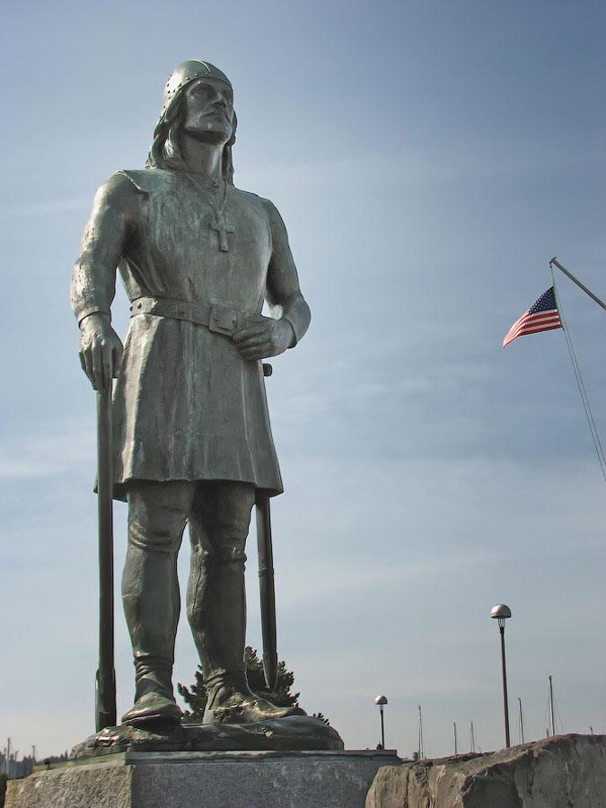 Памятник Лейфу Эриксону в Сиэтле