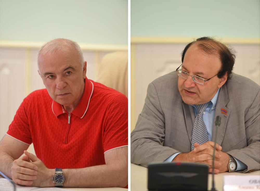 Аслан Тхакушинов и Амаяк Ованнисян.