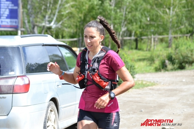 Варвара Шиканова из Красноярска обогнала всех мужчин, кроме одного.