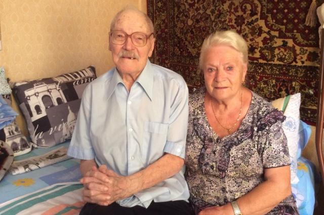 Владимир Львович Унтербергер и его вторая жена Людмила Георгиевна.