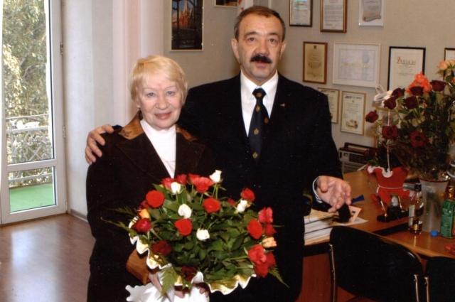 Людмила Николаевна и Николай Фёдорович Винниковы.