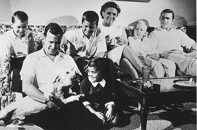 Семья Бушей. 1964 г.