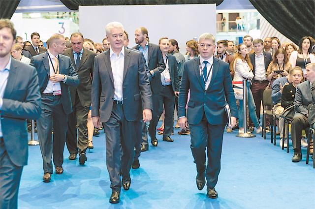 Мэр Москвы Сергей Собянин выступил на пленарном заседании Московского предпринимательского форума.
