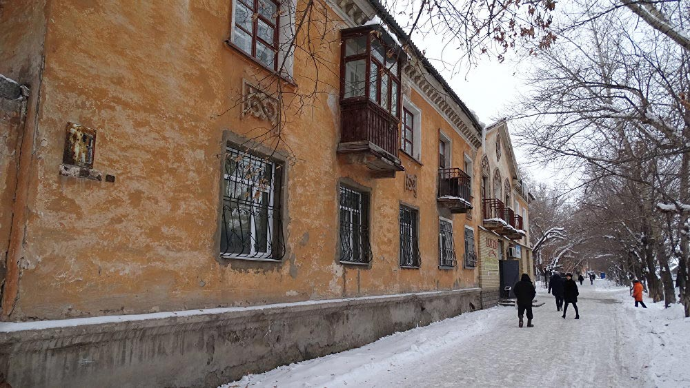 Навтором этаже этой «хрущёвки» наокраине Темиртау чета Назарбаевых жила несколько лет.