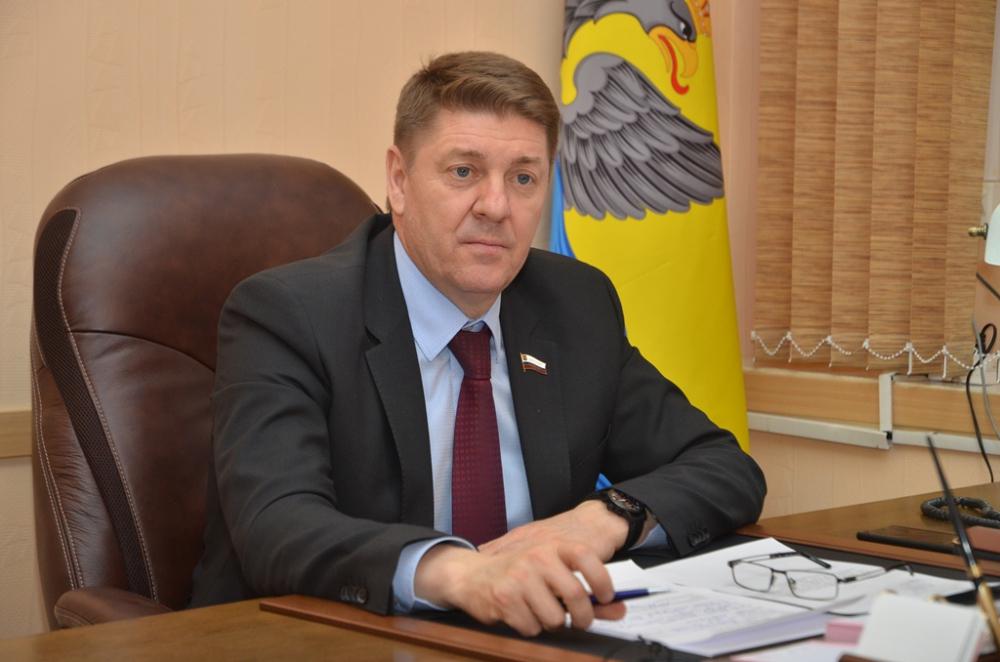 Председатель Оренбургского городского Совета Андрей Шевченко.