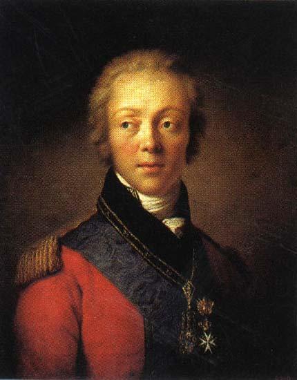 Федор Ростопчин фаворит императора Павла и руководитель его внешней политики.