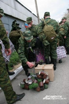 Большинство новобранцев сначала пойдут в учебные части Министерства обороны.