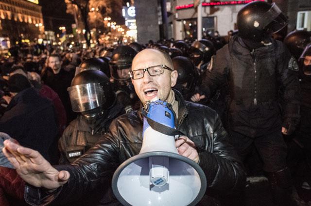 Лидер фракции «Батькивщина» в Верховной Раде Украины Арсений Яценюк. Фото