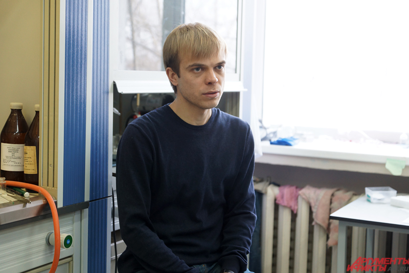 Кандидат химических наук, старший научный сотрудник кафедры природных и биологически активных соединений ПГНИУ Максим Учускин.