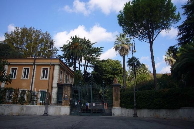 загородный дом и парк княгини Зинаиды Александровны Волконской в Риме, ныне официальная резиденция британского посла в Италии.