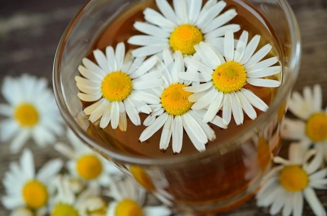 Цветочный чай также любят пить.