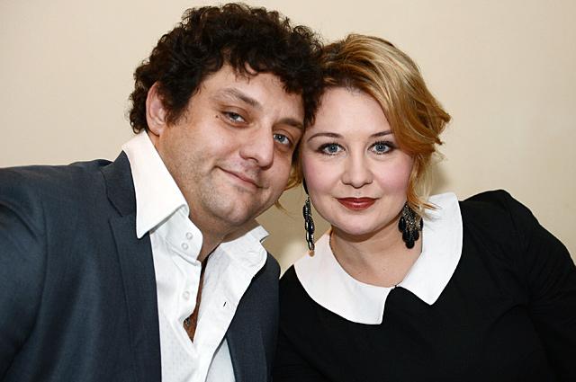 Михаил Полицеймако с супругой Ларисой.