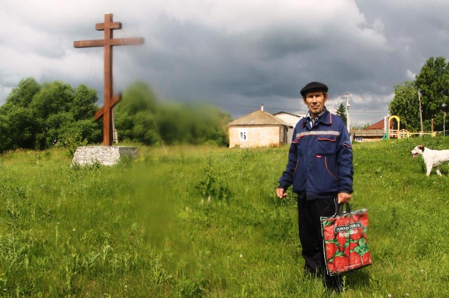 Геннадий Михеев ставит задачу-максимум – восстановление разрушенной церкви.