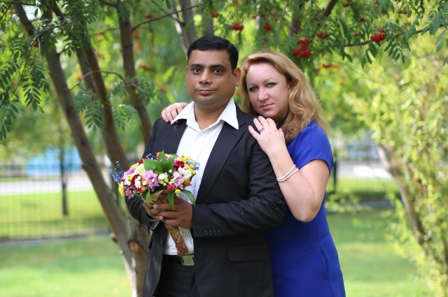 В Оренбурге семья Дас официально оформила отношения.