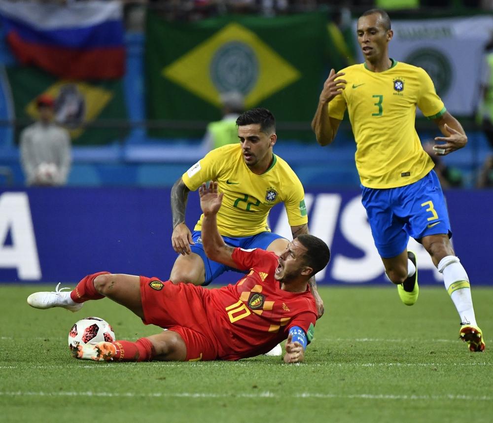 Бельгийцы использовали футбольные хитрости.