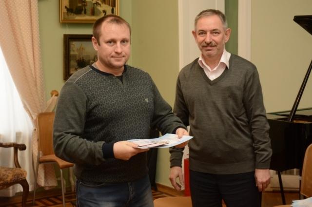 Званием и знаком Почётного донора в Красноярске награждают в красивых, выдающихся местах - например в Музее имени Сурикова.