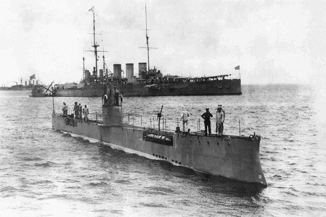 Подводная лодка Акула, 1913 год
