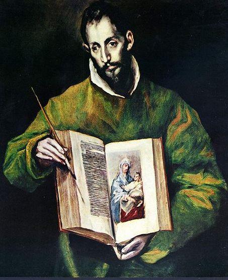 Евангелист Лука. Эль Греко