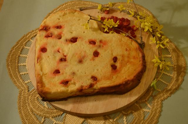 Картофельный торт с творогом