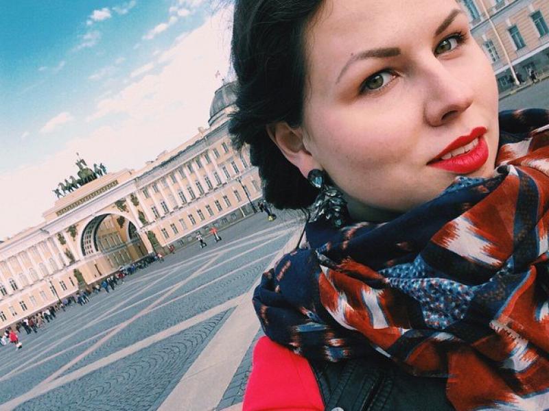 В Петербурге девушке очень понравилось.