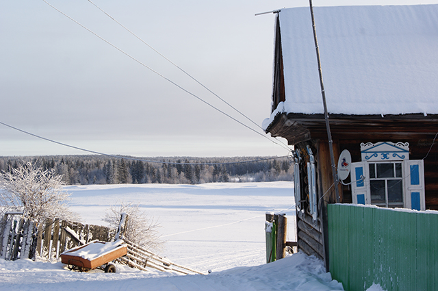 Село стоит в окружении тайги, но, возможно, топить печи в домах скоро станет нечем
