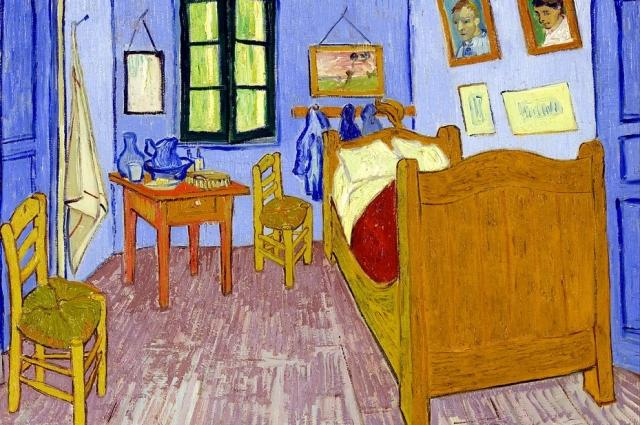 «Спальня в Арле», Ван Гог. Художники начали искать новые методы и выразительные средства изображения.