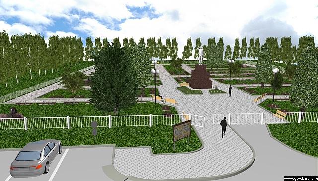 Так будет выглядеть мемориал после окончания реконструкции