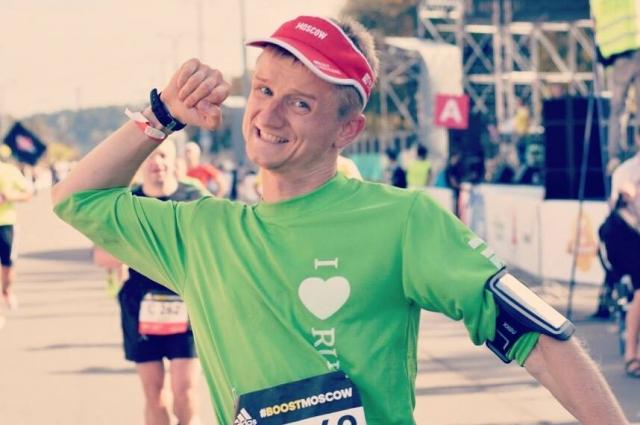Участие в марафоне дарит Максиму ощущение безграничных возможностей.