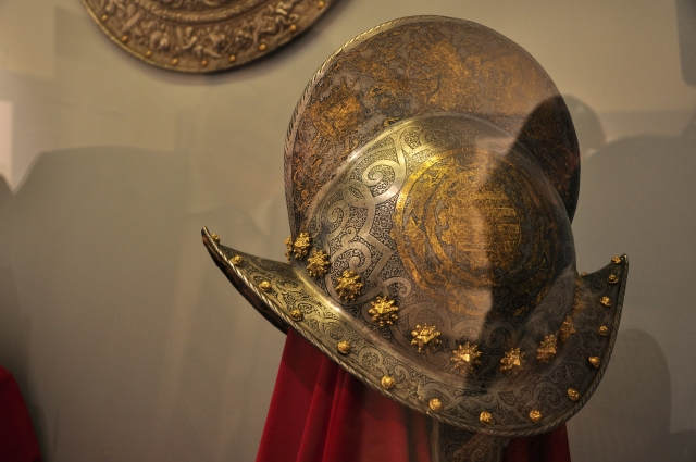 Часть экспозиции Эрмитажа в музее им. Врубеля.