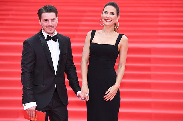 Екатерина Климова и ее супруг актер Гела Месхи.