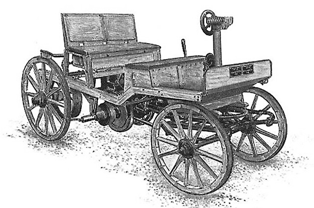 Самобеглая коляска Леонтия Шамшуренкова, 1752 г.