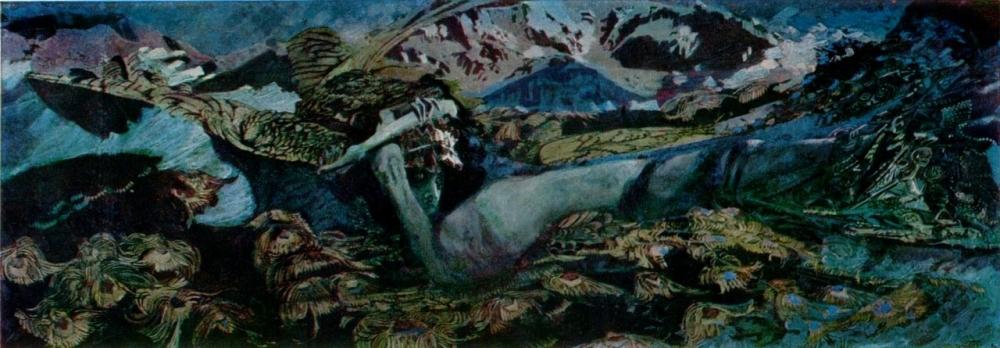 «Демон поверженный», Михаил Врубель, 1902 год