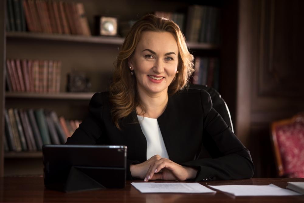 Председатель Правления Коммерческого индустриального банка Татьяна Путинцева