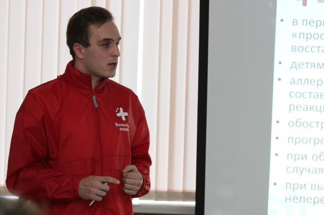 Виктор Клёнов - один из активистов движения «Волонтеры-медики».
