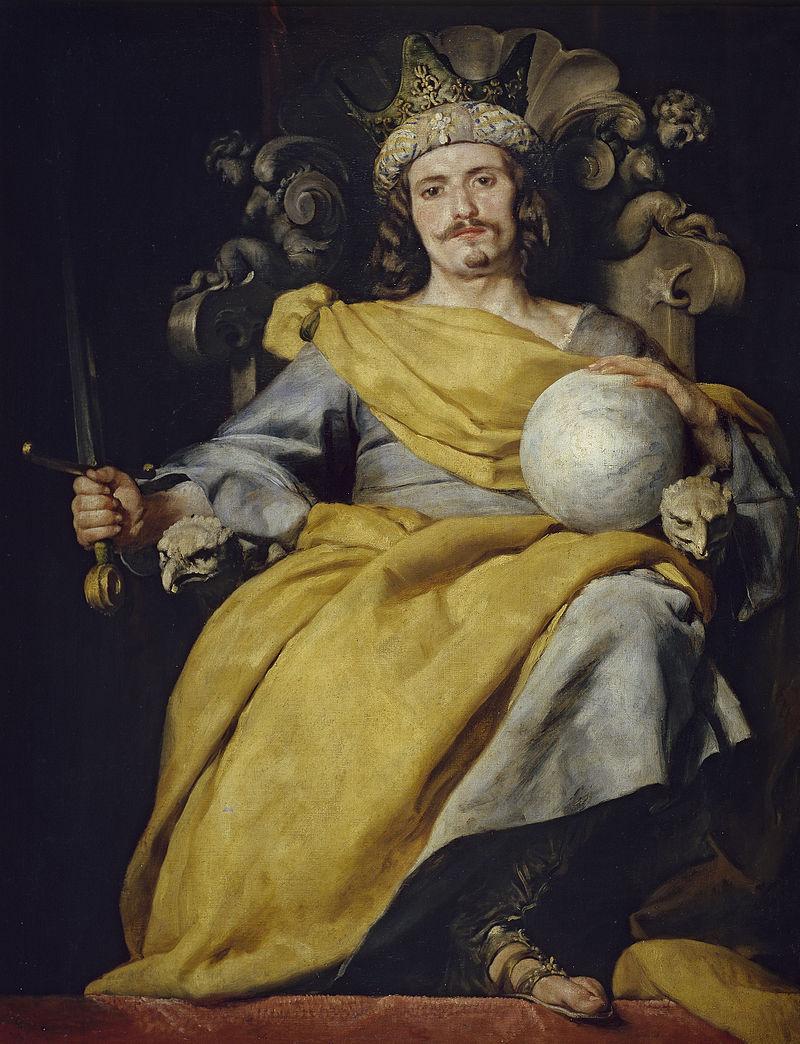 Алонсо Кано. Аллегорическое изображение короля Испании.